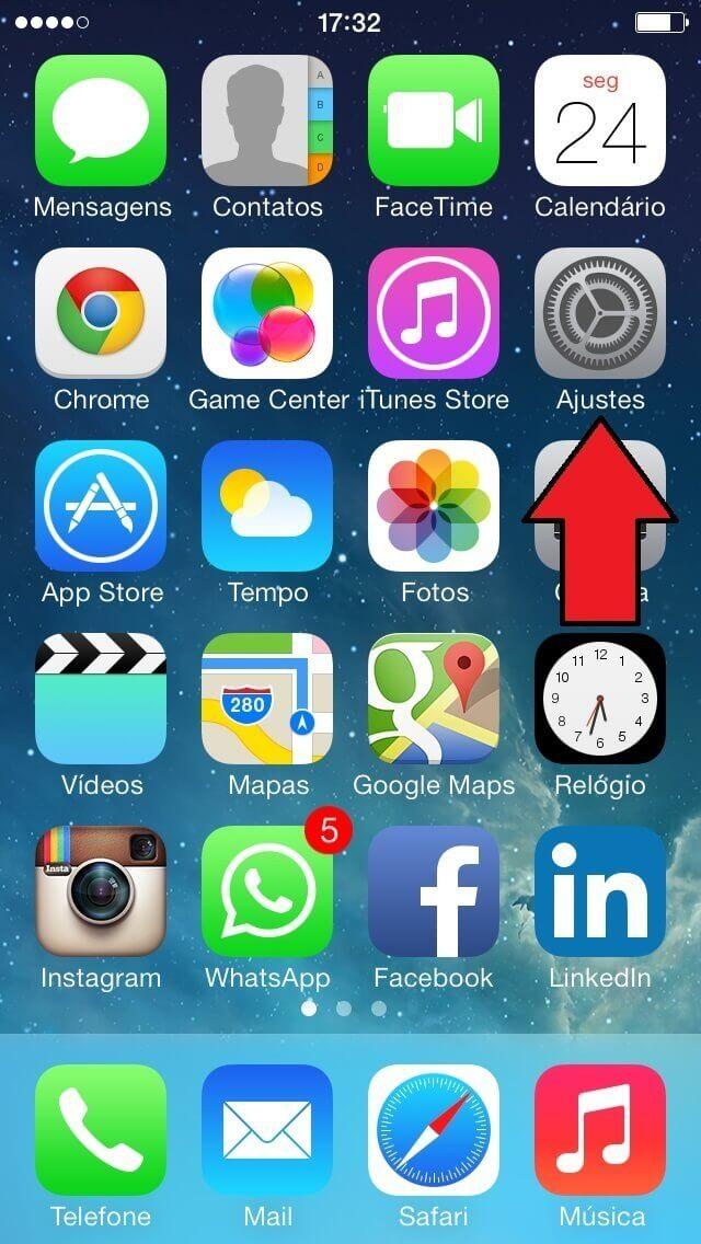 Configurar Email no IPhone - Passo 2