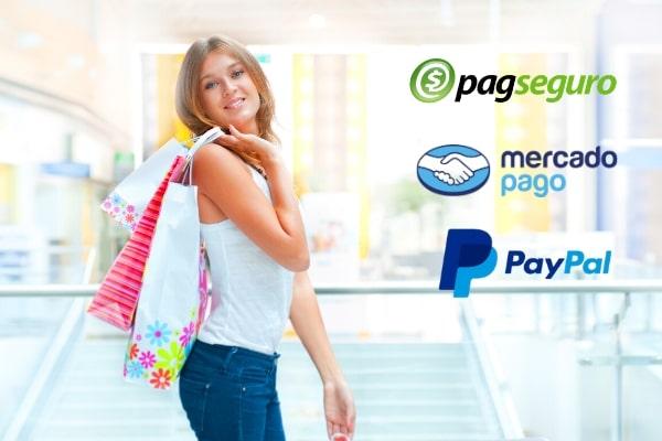 pagamento pagseguro mercadopago pay pal