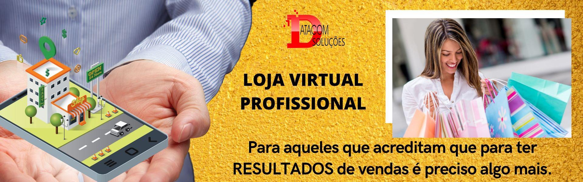 criação loja virtual profissional responsivo