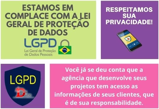 agencia marketing digital -- complace com a lgpd - Datacom Soluções